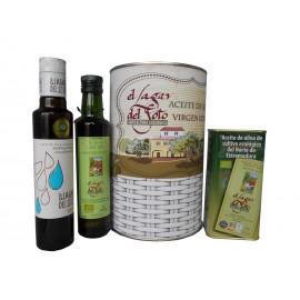 Lata con Aceite de Oliva Virgen extra cultivo ecológico El Lagar del Soto