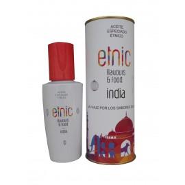 Aceite especiado que identifica la cocina India en lata