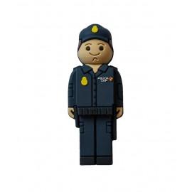USB Policía Nacional en lata