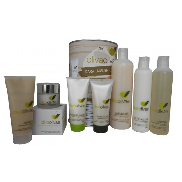 Lote Cosméticos de productos naturales con Aceite de Oliva Virgen extra