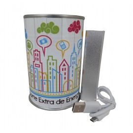 Power Bank LITER en lata