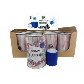 Expositor radio bluetooth TEIFER en lata