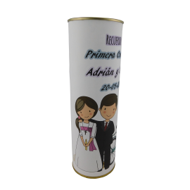 Lata diseño DS211 Comunión niña y niño