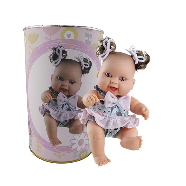 Muñeca Raquel en lata
