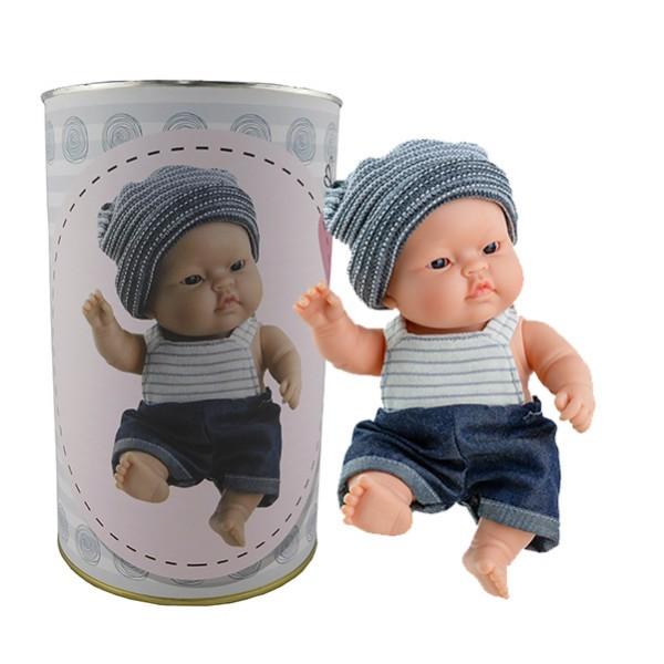 Muñeco Pedro en lata