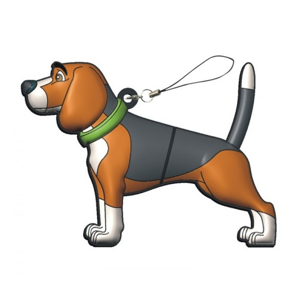 USB perro Beagle en lata