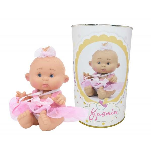 Muñeca Yasmín en lata personalizada