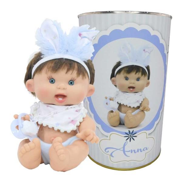 Muñeca Anna en lata personalizada