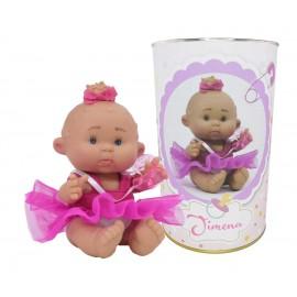 Muñeca Jimena en lata personalizada