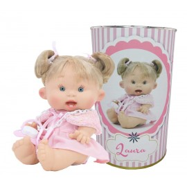 Muñeca Laura en lata personalizada