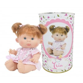 Muñeca Iria de 26cm en lata personalizada