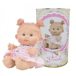 Muñeca Daniela en lata personalizada