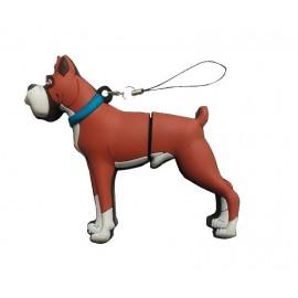 USB perro Boxer en lata