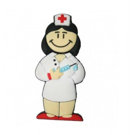 USB enfermera en lata