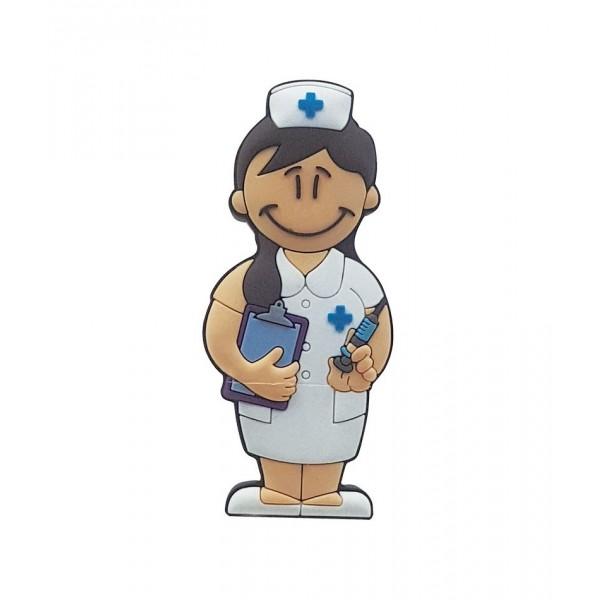 USB enfermera nueva en lata