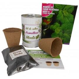 Kit de cultivo Menta en lata