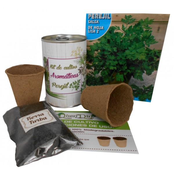 Kit de cultivo Perejil en lata