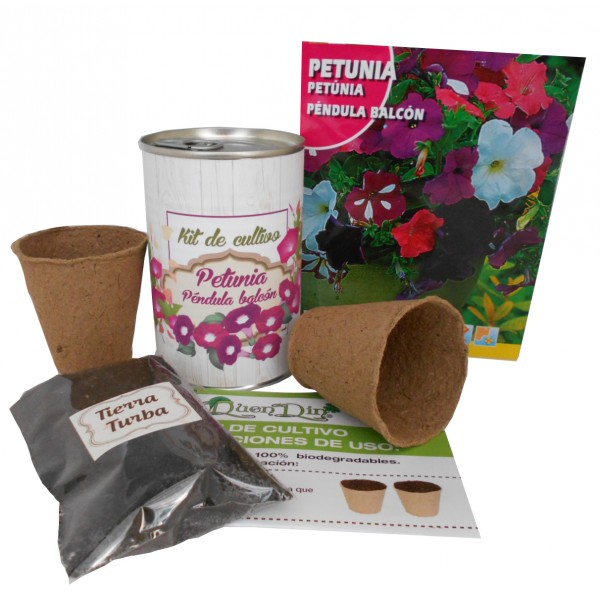 Kit de cultivo Petunia en lata
