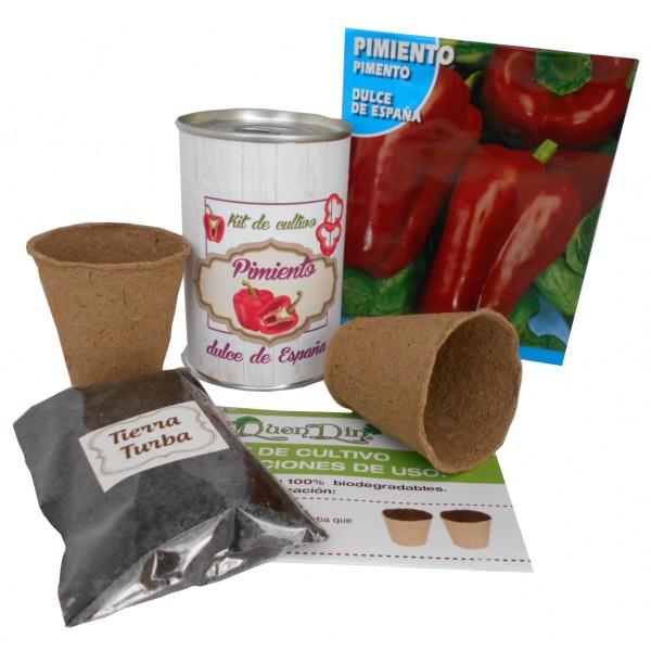 Kit de cultivo Pmiento en lata