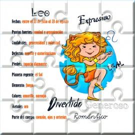 Puzzle horóscopo Leo en lata