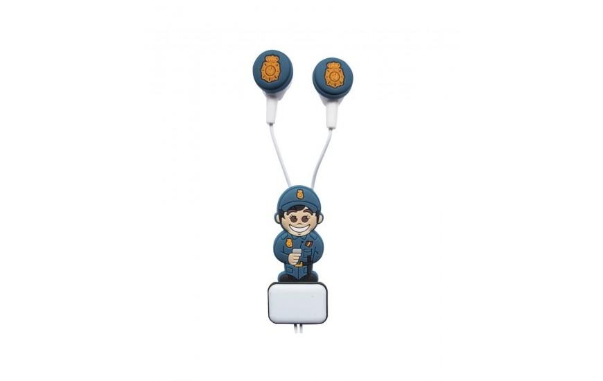 Auriculares protección ciudadana