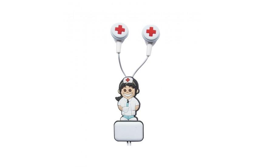 Auriculares sanitarios